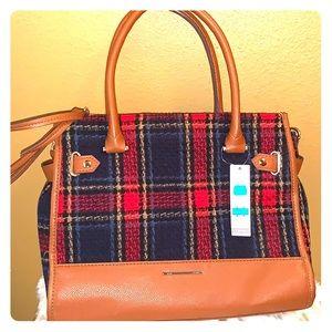Beautiful plaid handbag